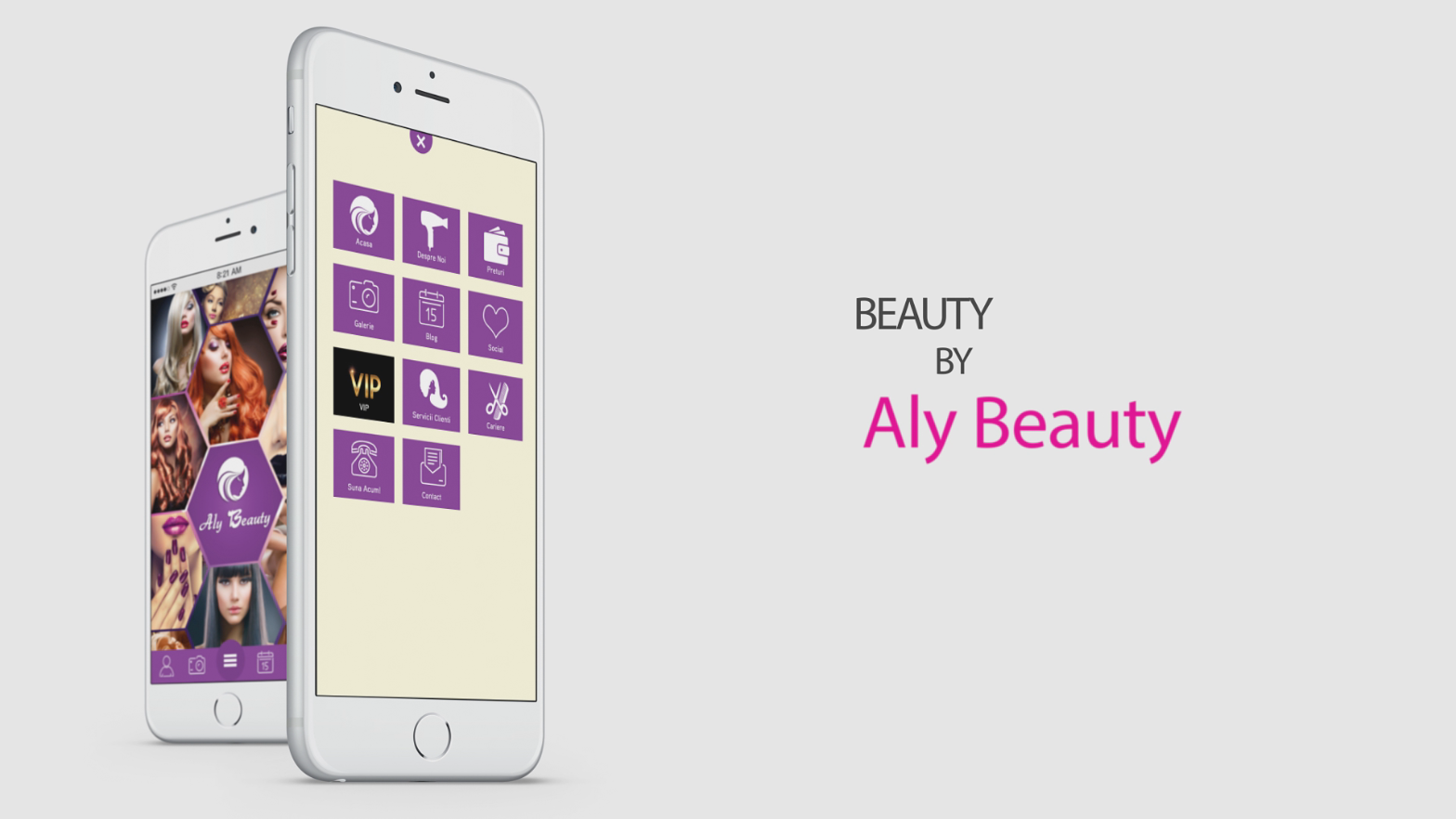 Aplicatia Aly Beauty Salon